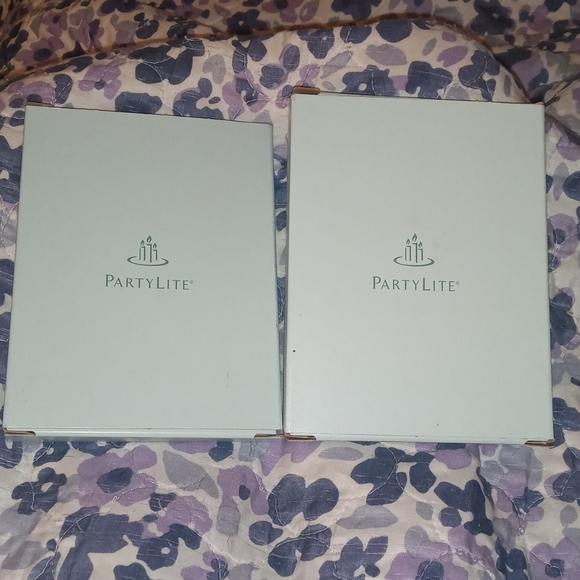 2 Pk PartyLite Tea lights Ginger Currant & Zen